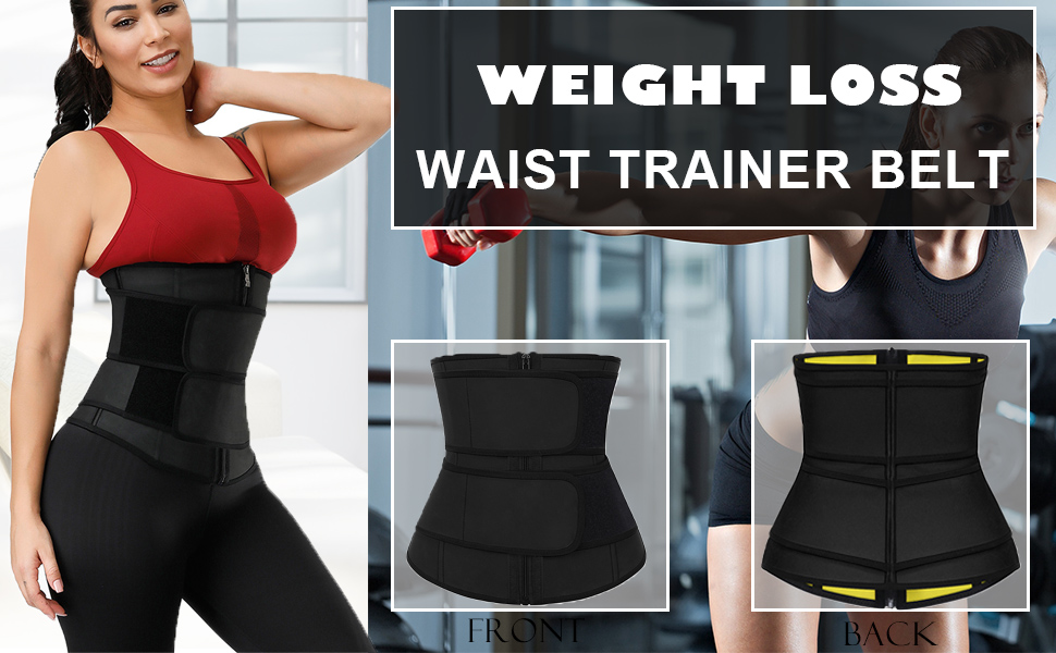 Waist Trainer Corset for Weight Loss Tummy Control Sport Workout Body Shaper