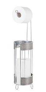 Metal Toilet Tissue Reserve Plus in Metallic Finish