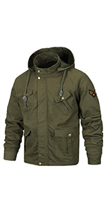 military styled jackets men