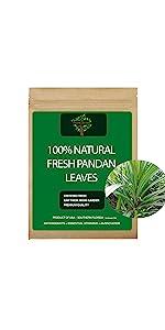 Fresh Pandan Leaves, Fresh Pandan Tea