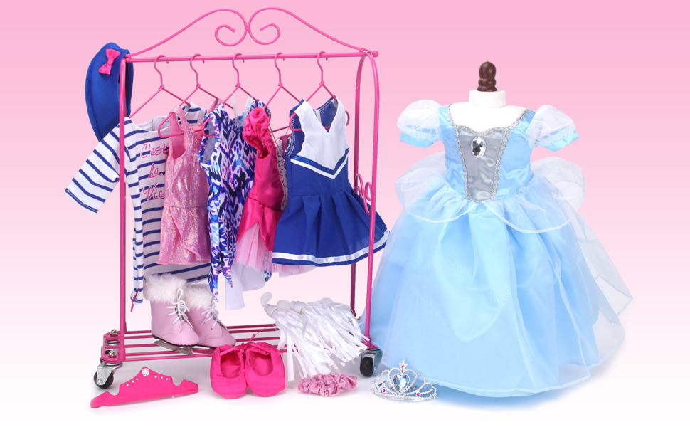 doll clothes, doll wardrobe