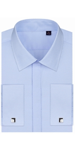 Covered Placket dress shirt