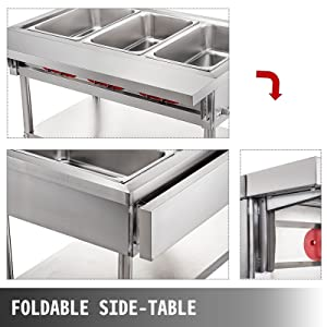 Steam Table Food Warmer