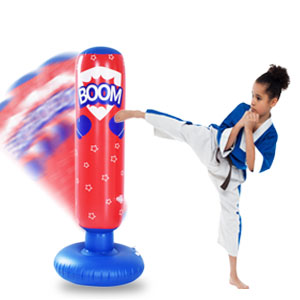 freestanding punching bag air pump for inflatables reflex bar training gloves punch bag wavemaster