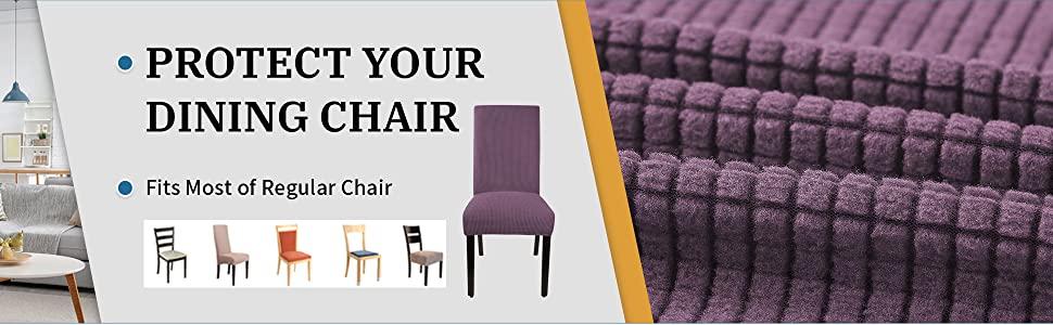 Purple Chair Cover A+5