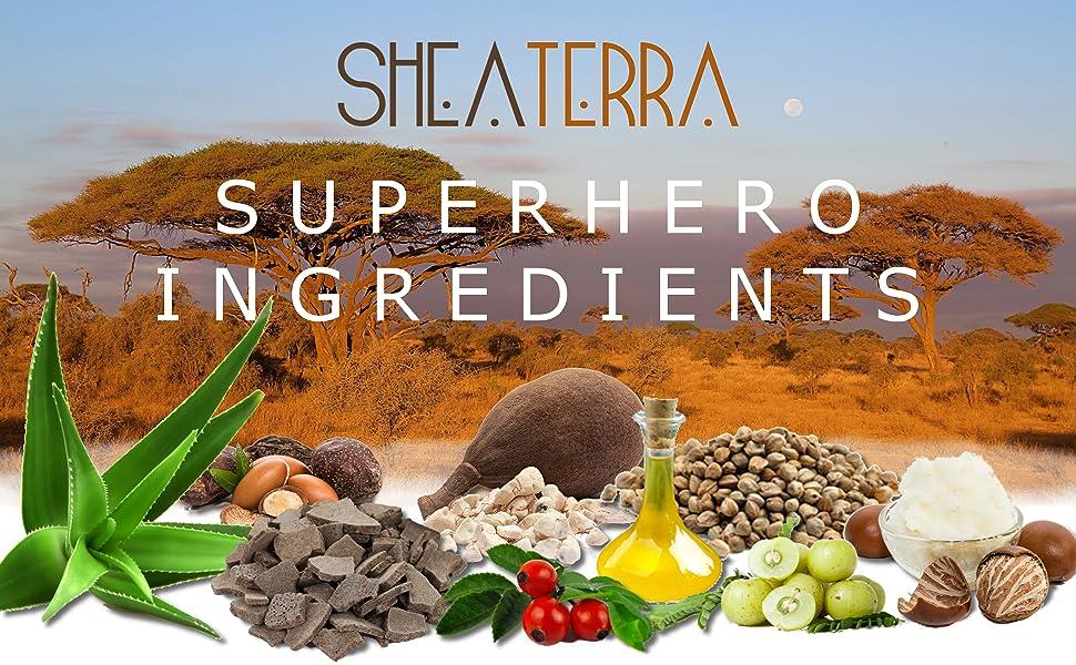 Superhero Ingredients