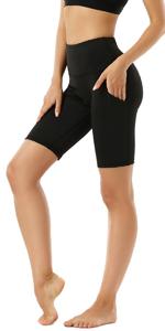 High Waist Long Shorts