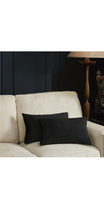 Velvet sofa lumbar pillow covers