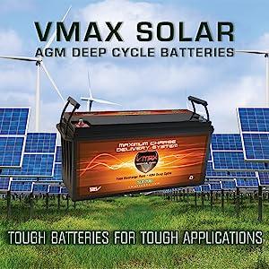 VMAXBATTERY, SOLARPANEL, CHARGETANK, LEAD ACID, GEL, LITHIUM, POWERSUPPLY