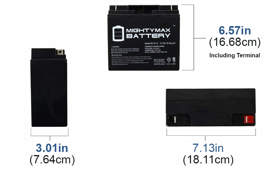 replacement SLA Battery for FM12180 rechargable battery sla battery