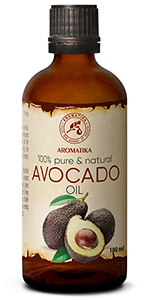 Avocado Oil 3.4oz - South Africa - 100% Pure & Natural - Cold Pressed Avocado Seed Oil -
