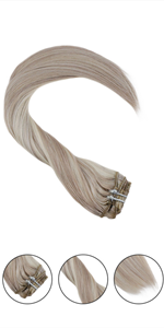 clip in hair extensions human hair double weft extensions clip in hair