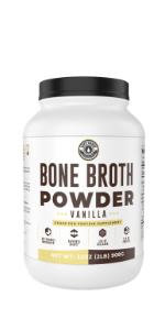 2lb Vanilla Bone Broth Protein Powder