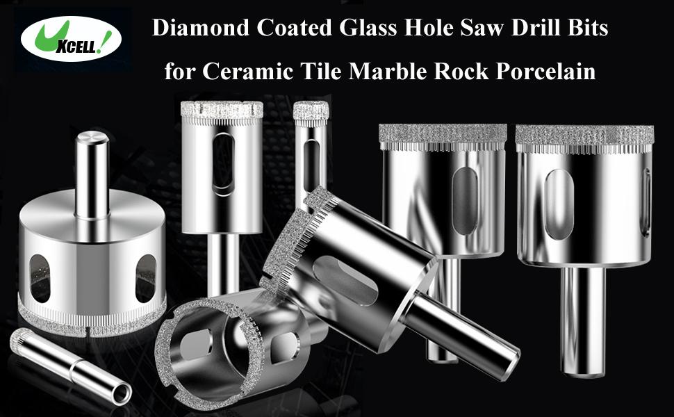 Stadea Diamond Hole Saw for Ceramic Porcelain Tile Stone Coring Drilling