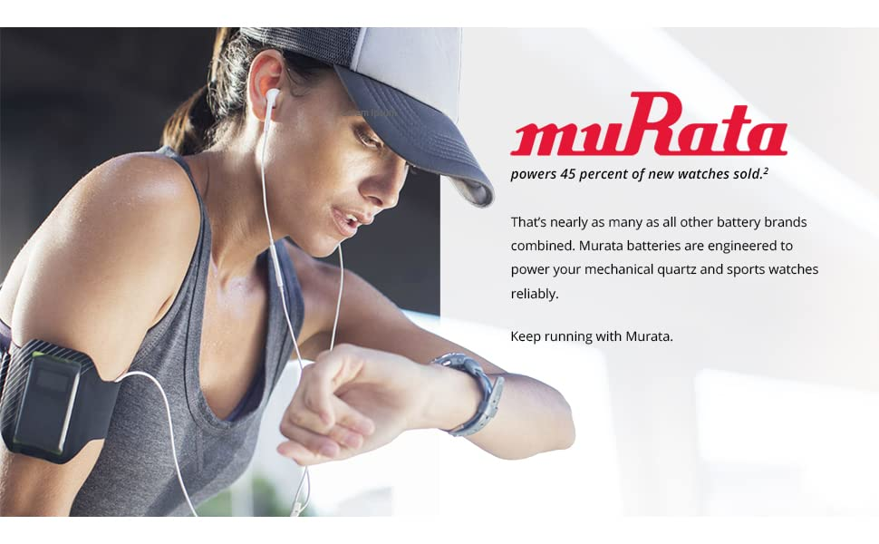 Murata is half the watch battery market