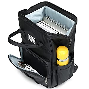 LARGE CAPACITY & ROOMY COMPARTMENTS