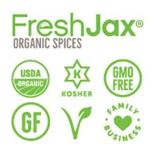 Certified Kosher, Certified Organic, GMO Free, Gluten-Free, Vegan, Small Family Business