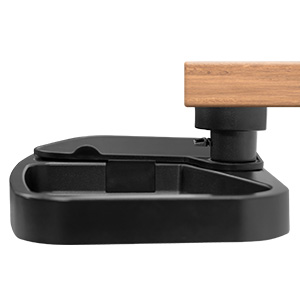 Mount-It! Under Desk Swivel Storage Drawer Tray with Mouse Pad