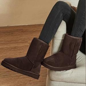 chocolate boots women womens sheepskin boots women shearling boots