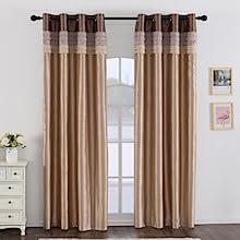 gold blackout curtains