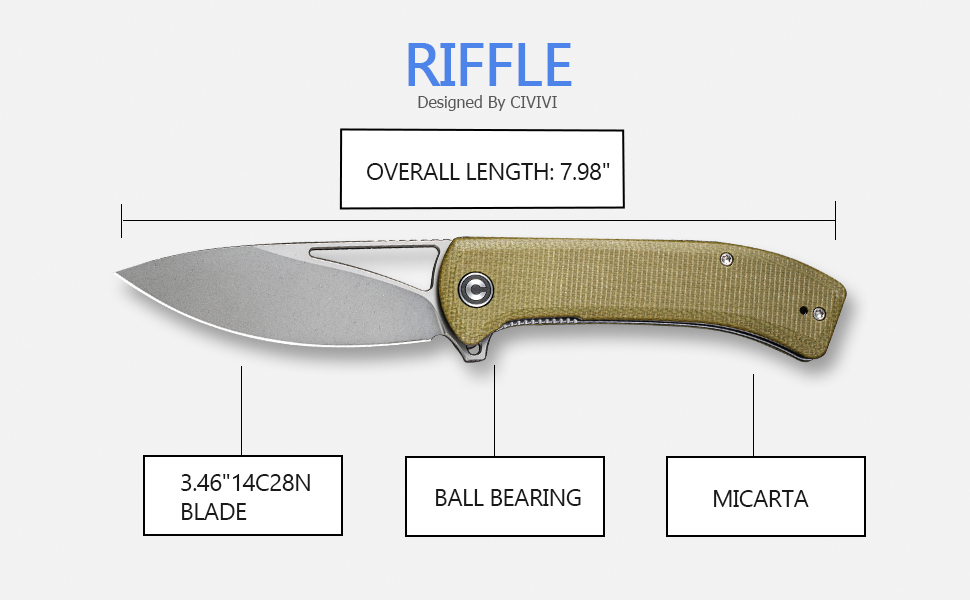 Great style and great function in a value-priced knife