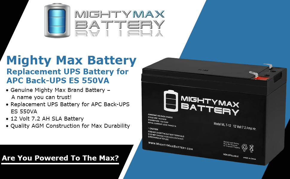 replacement battery for PS Battery for APC Back-UPS ES 550VA rechargable battery sla battery