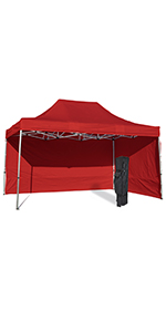aluminum steel 10x15 canopy tent large light portable ez up pop up canopy tent adjustable high