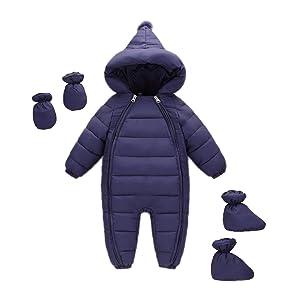 navy blue toddler snow wear