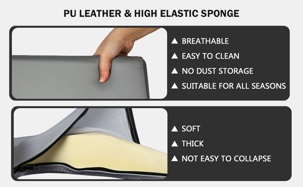 PU Leather and Height elastic sponge