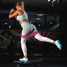 booty bands hip resistance workout glutes circle