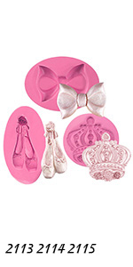 Princess Molds Set 3-count