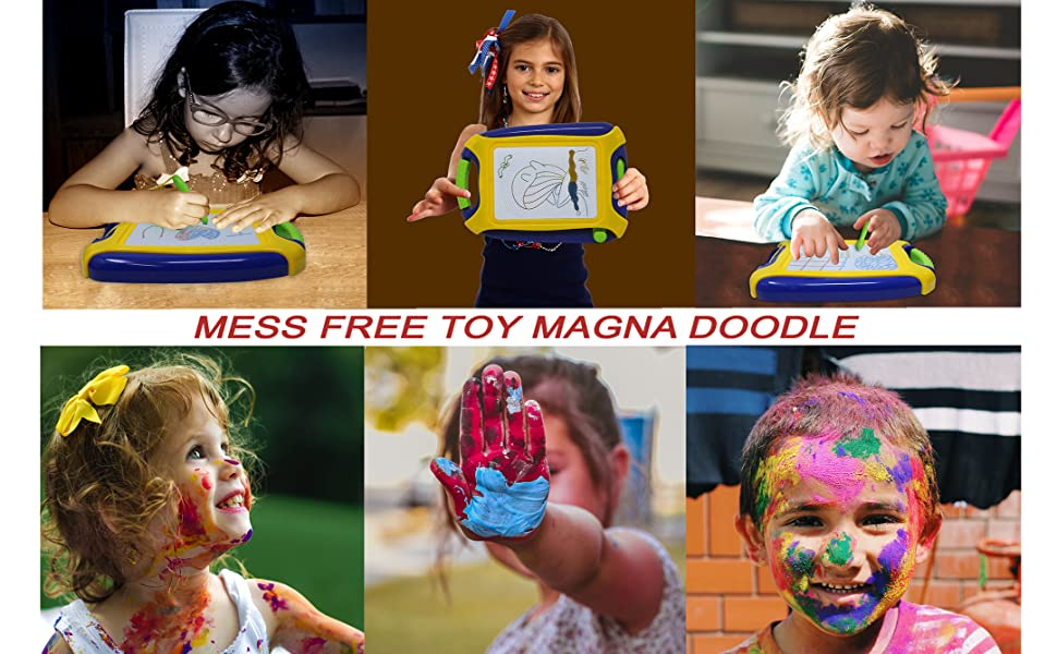 mess free toys for toddlers