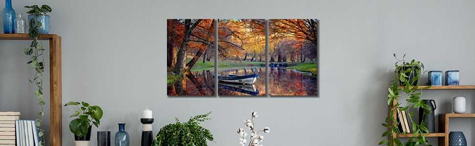 foggy forest picture prints