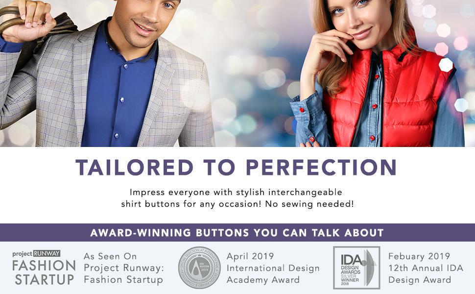 auxilry_interchangeable_shirt_button_bundle shirt buttons button covers cufflinks for men