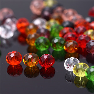 Faceted round beads