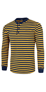 Striped Henley Shirt