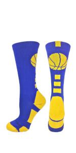 Youth Girls and Boys Basketball Socks
