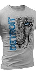 detroit lions tigers mens apparel vs everybody t shirt sports womens  michigan men shirts footboll