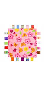 Flower Security Blanket