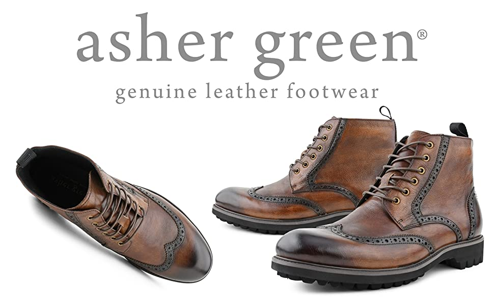 asher green, ag, leather, boots, laceup boot, elegant, genuine leather, portugal, grunge