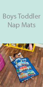 boys toddler nap mat