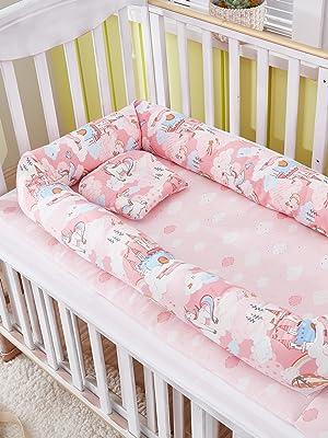 pink baby nest bed newborn lounger