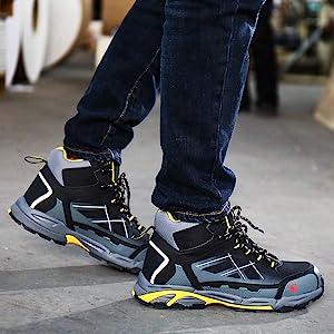 steel toe Men's Industrial & Construction Boots