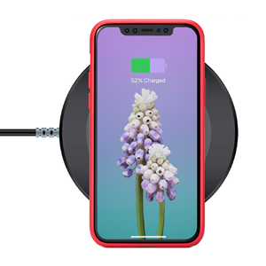 iphone 11 charging case support wireless charging qi