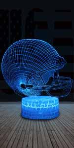 football helmet night light for kids