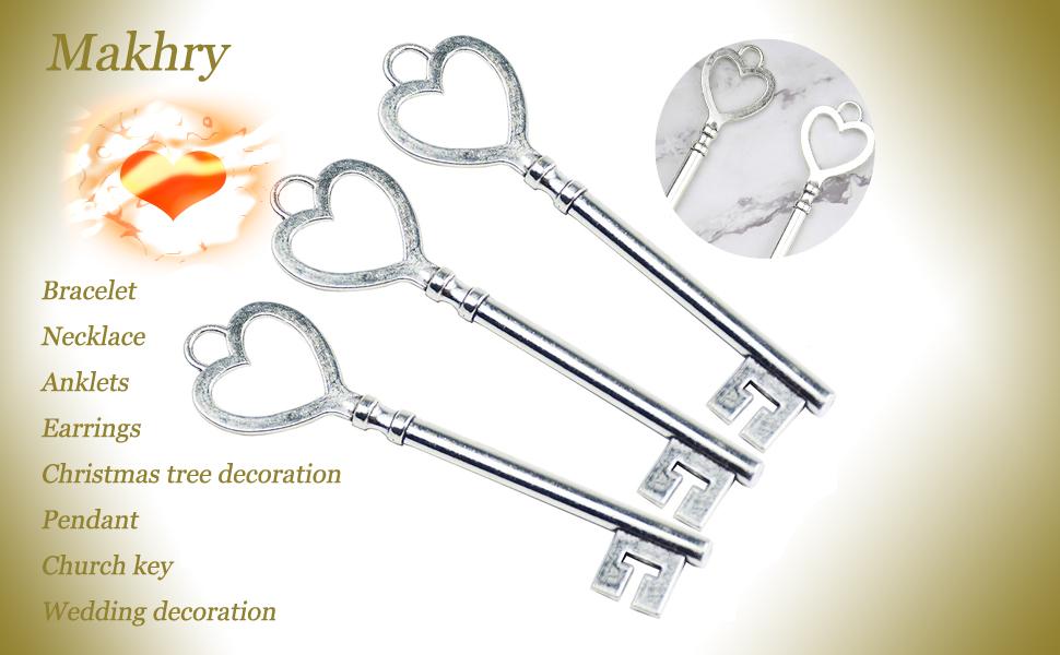 key for diy  key for diy gift key for diy craft key for diy souvenir key vintage decoration