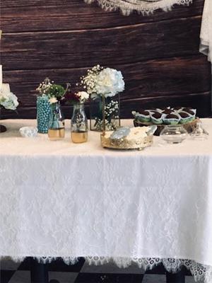 Wedding Tablecloth Decoration