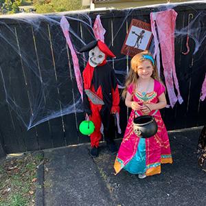 Halloween Princess Rose Red Dress