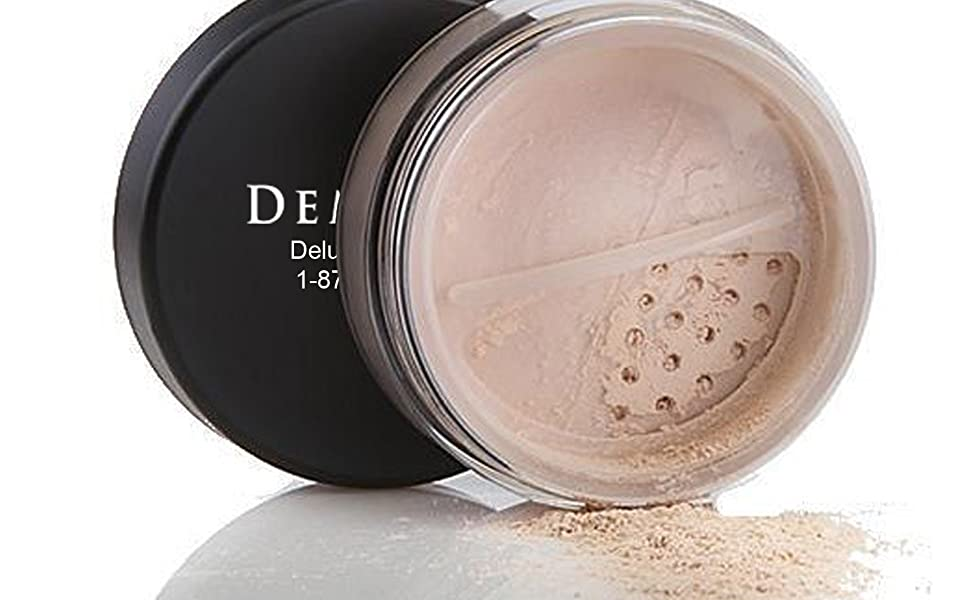 foundation mineral makeup organic natural loose powder