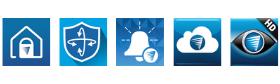 Swann Security Mobile App Symbols